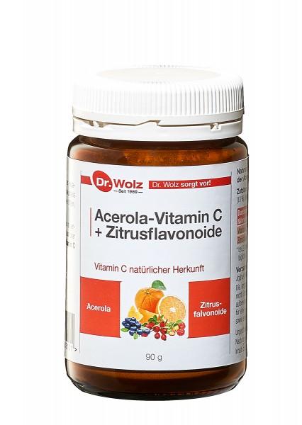 Dr. Wolz® Acerola-Vitamin C + Bioflavonoide 90 g