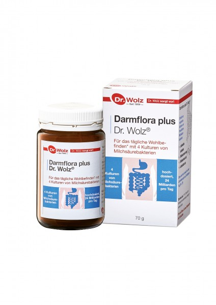 Dr. Wolz® Darmflora plus 70 g