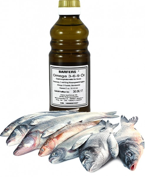 BARFERS® Omega 3-6-9 Öl
